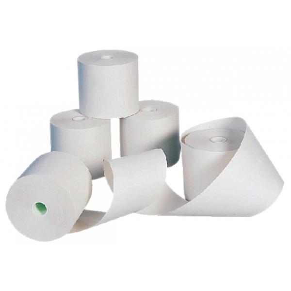 Kassarol, thermorol, wit, 80 x 75 x 12 mm