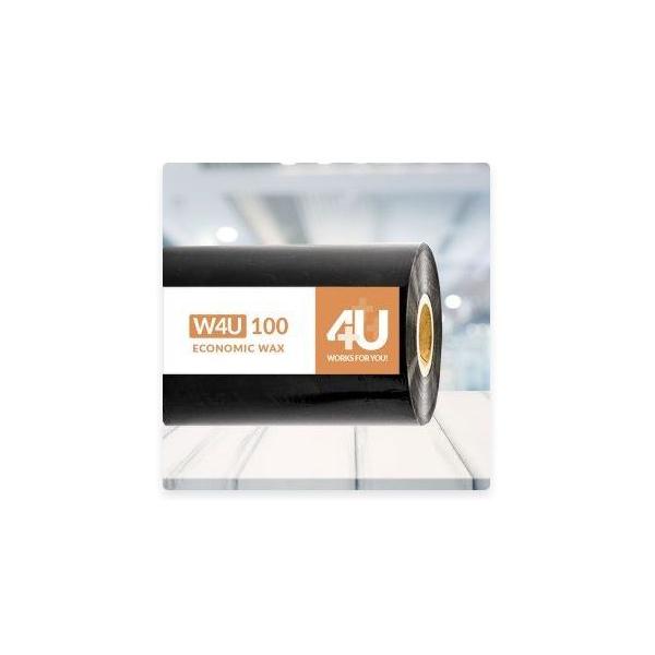 Printlint, 116mm x 450mtr, wax, W4U 100