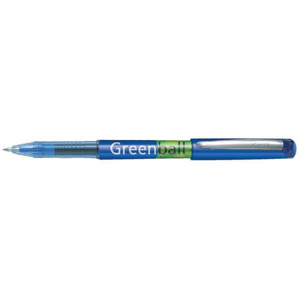 Rollerpen pilot greenball begreen 0.5mm blauw