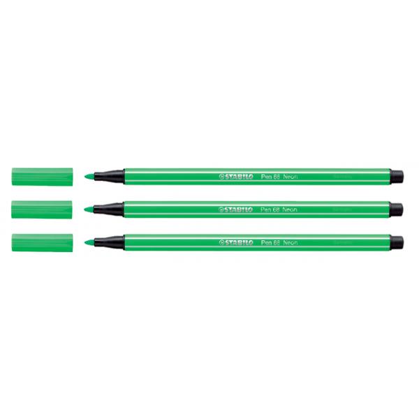 Viltstift stabilo 68 neon groen(68/033)