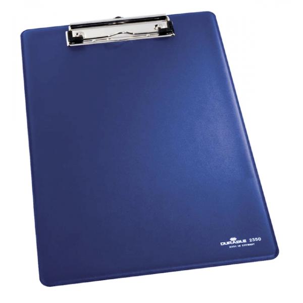 Klembord durable 2350 a4 kopklem blauw