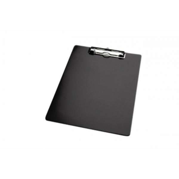 Klembord a4 staand kopklem zwart
