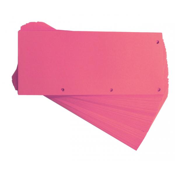 Scheidingsstrook oxford duo 240x105mm roze(400014011)