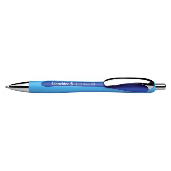 Balpen schneider slider rave blauw/donkerblauw(s-132503)