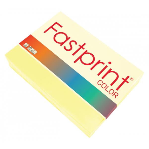 Kopieerpapier fastprint kleur a3 120gr kanariegeel