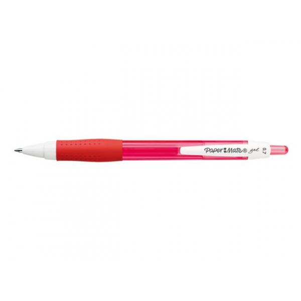 Gelschrijver papermate flexgrip 0.7mm rood(s0903230)