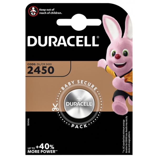 Batterij duracell dl2450