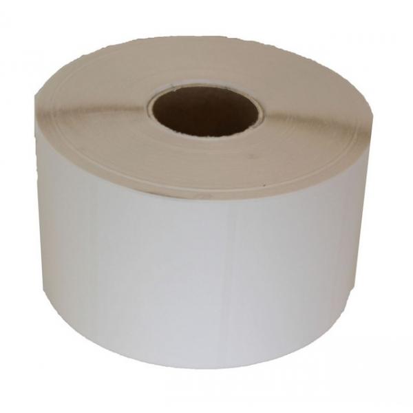 PE etiket 100x150mm (A6) mat wit permanent  Rol a 1000stuks
