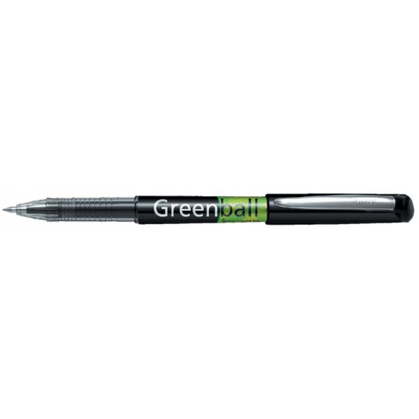 Rollerpen pilot greenball begreen 0.5mm zwart