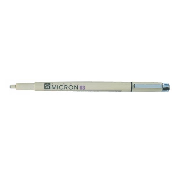 Fineliner bruynzeel pigma micron 0,35mm zwart