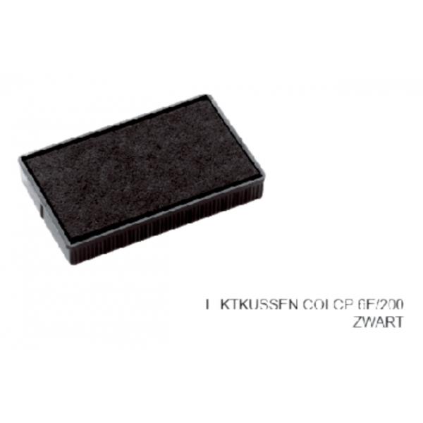 Inktkussen colop 6e/200 zwart