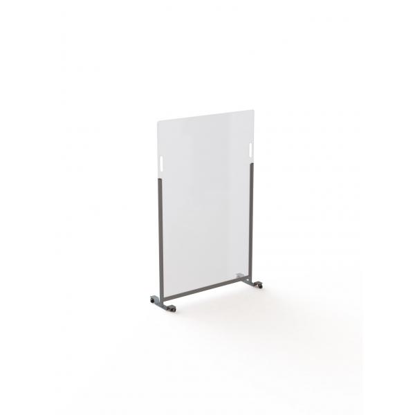 Acrylaat vrijstaande verrijdbare veiligheidspanelen 80x140cm