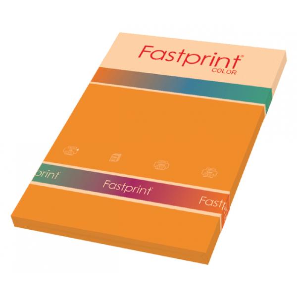 Kopieerpapier fastprint a4 160gr oranje