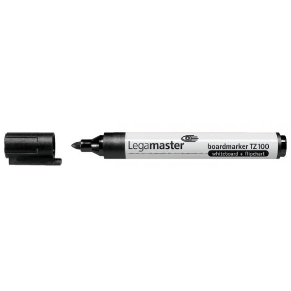 Viltstift lega tz100 whiteboard rond 2mm zwart