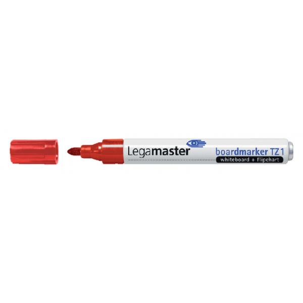 Viltstift lega tz1 whiteboard rond 1-3mm rood