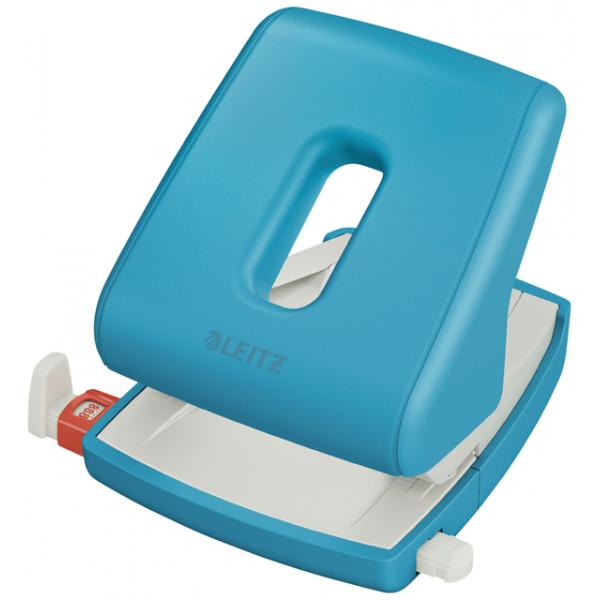 Perforator leitz cosy 2-gaats blauw(50040061)