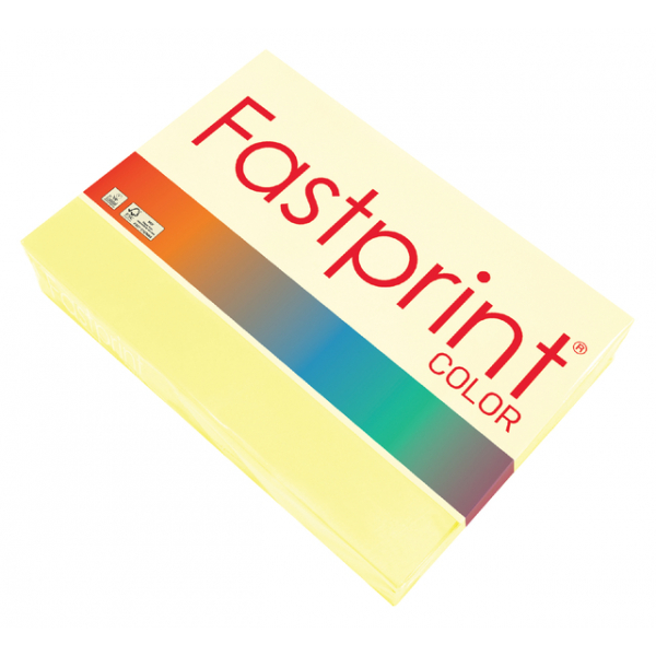 Kopieerpapier fastprint a3 80gr kanariegeel