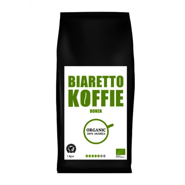 Koffiebonen biaretto espresso biologisch(017404)