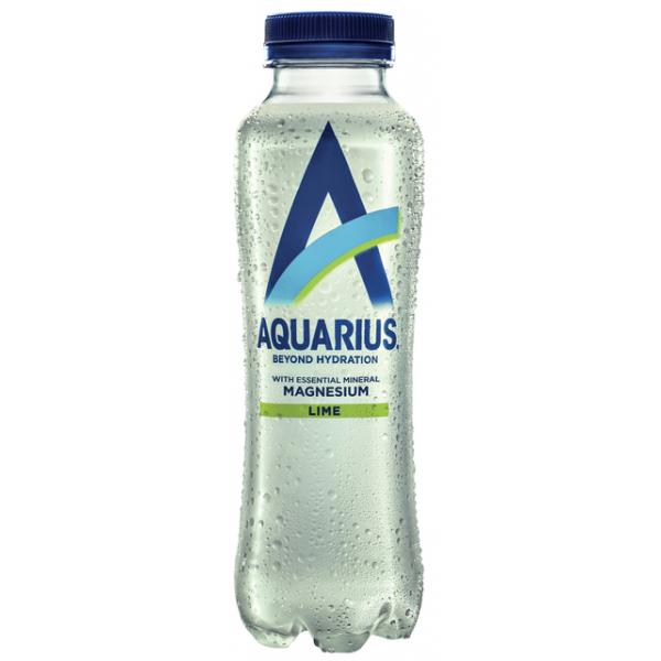 Frisdrank aquarius hydration lime petfles 0.40l(241460)