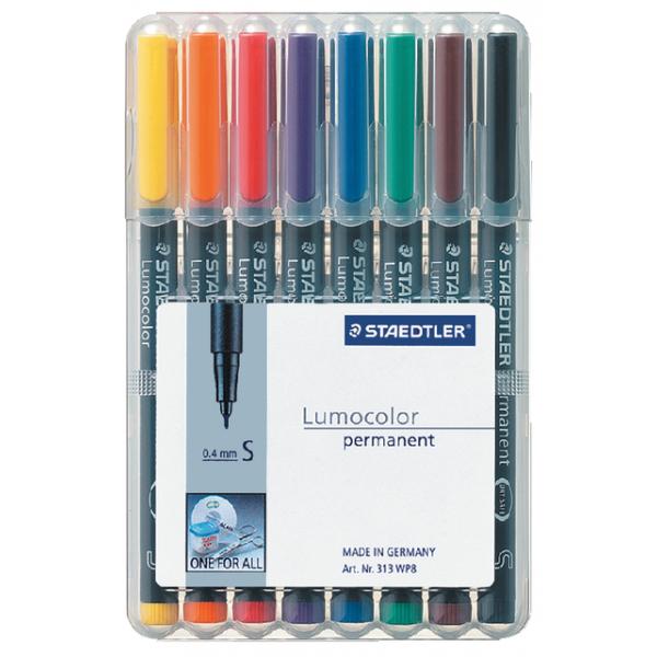 Viltstift staedtler perm ohp lumocolor sf 313 wp8s