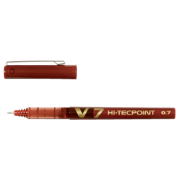 Rollerpen pilot hi-tecpoint bx-v7 0.35mm rood