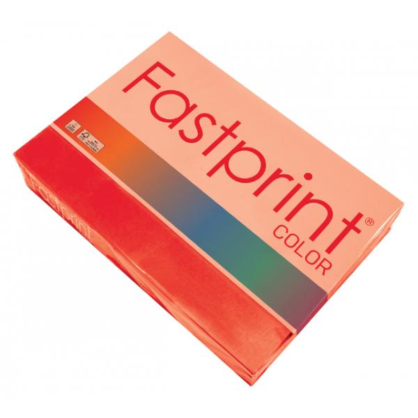 Kopieerpapier fastprint kleur a3 120gr felrood