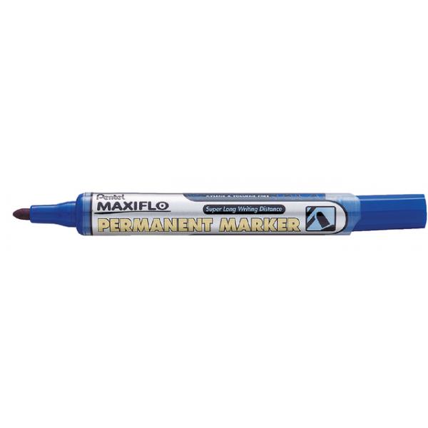 Viltstift pentel nlf50 maxiflo rond 1.5-3mm bl