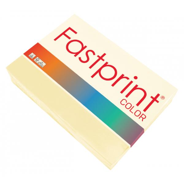 Kopieerpapier fastprint kleur a4 120gr ivoor