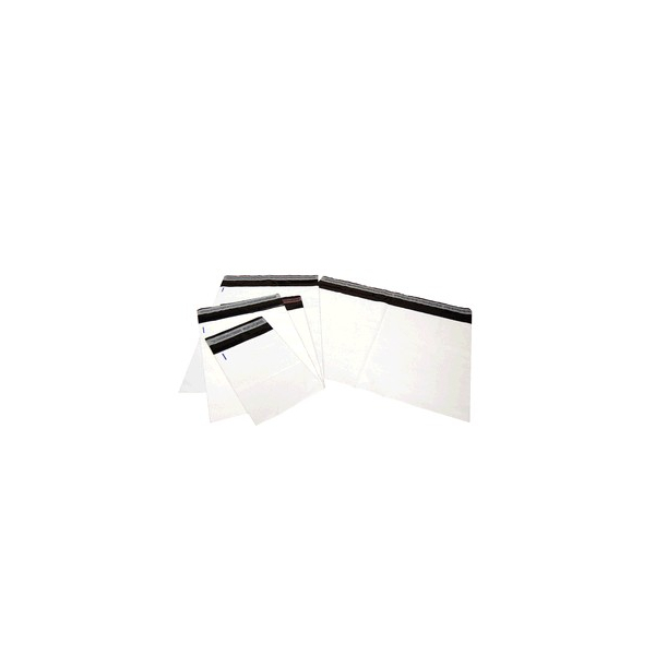 Verzendzak met dubbele plakstrip, LDPE coex, 36x53.5cm