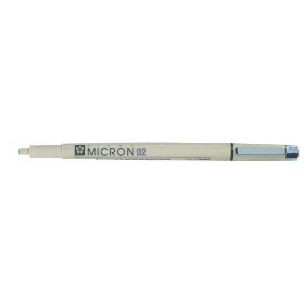 Fineliner bruynzeel pigma micron 0,3mm zwart