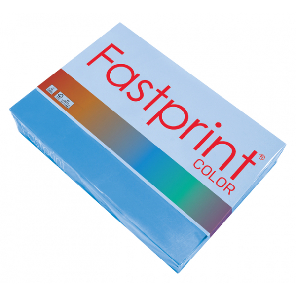 Kopieerpapier fastprint a4 80gr diepblauw