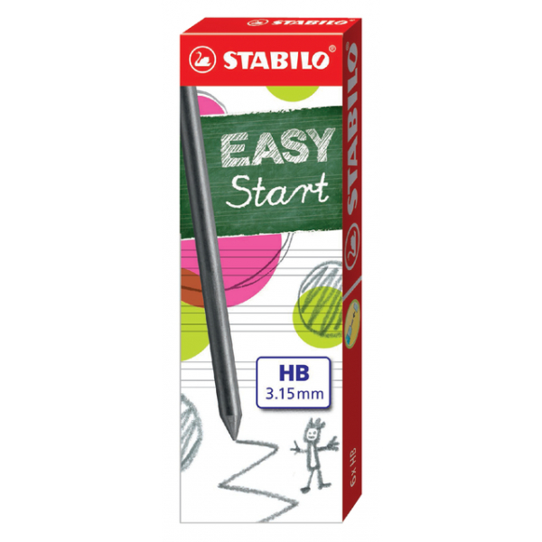 Potloodstift stabilo easy ergo hb