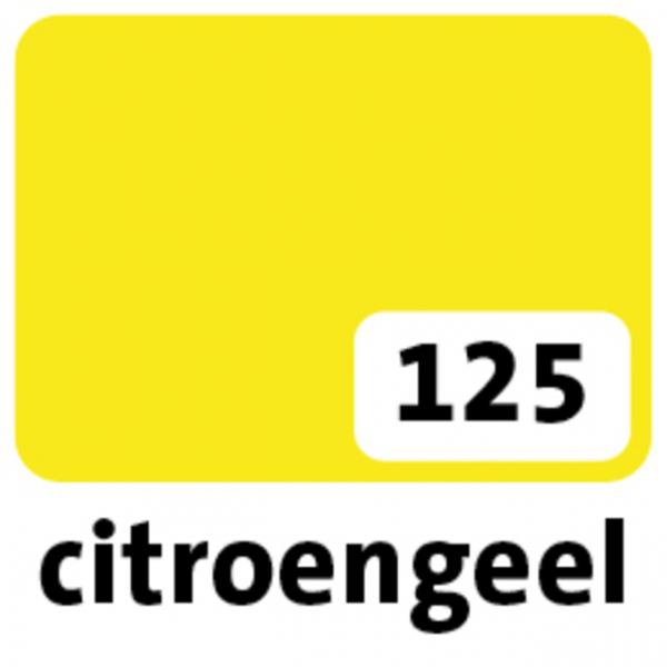Etalagekarton folia 48x68cm 380gr nr125 geel(65125e)