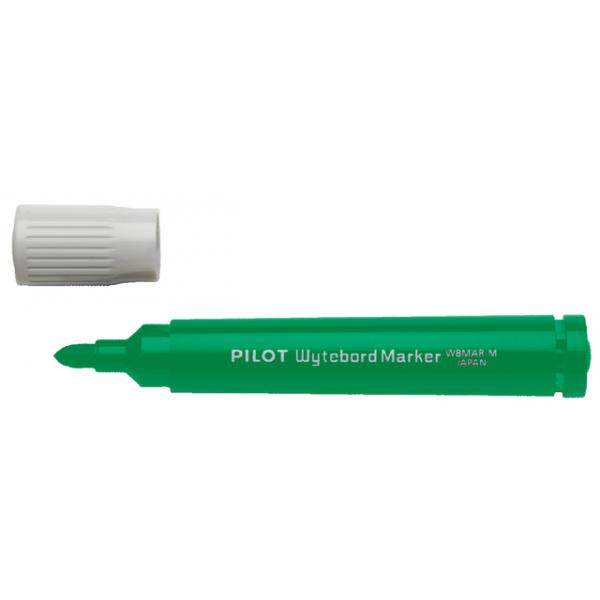Viltstift pilot wbma-m whiteboard rond 1.8mm groen