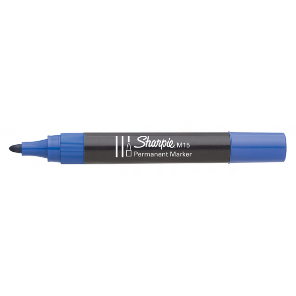 Viltstift papermate m15 perm rond 1.8mm blauw