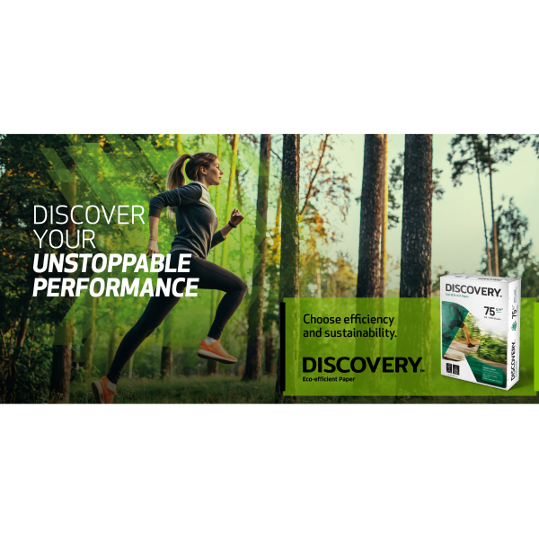 Discovery A4 75 grams kopieerpapier, wit (500 vel)
