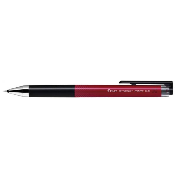 Gelschrijver pilot synergy blrt-snp5 0.25mm rood(49025055850