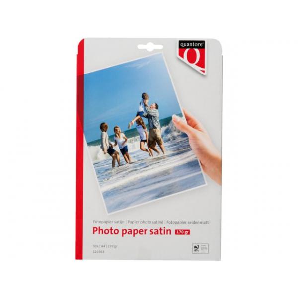 Fotopapier quantore a4 170gr mat satijn(129363)