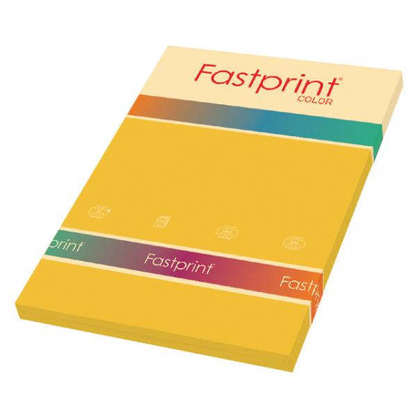 Kopieerpapier fastprint a4 160gr goudgeel