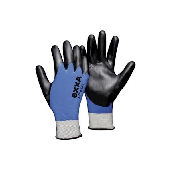 Oxxa X-Pro-dry, zwart-blauw, olie bestendig, M