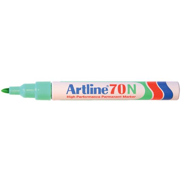 Viltstift artline 70 perm rond 1.5mm groen