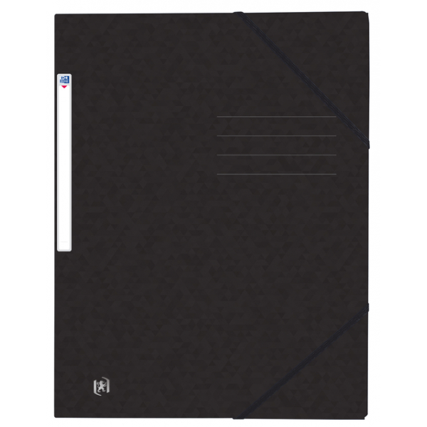 Elastomap oxford top file+ a4 zwart(400116306)