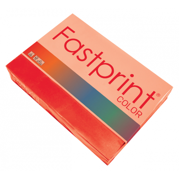 Kopieerpapier fastprint a3 80gr felrood