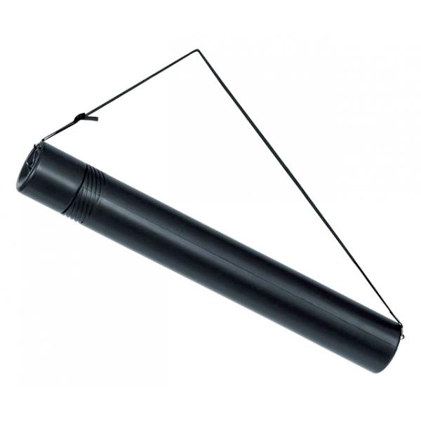 Tekeningkoker linex zoom 74cm doorsnee 6cm zwart