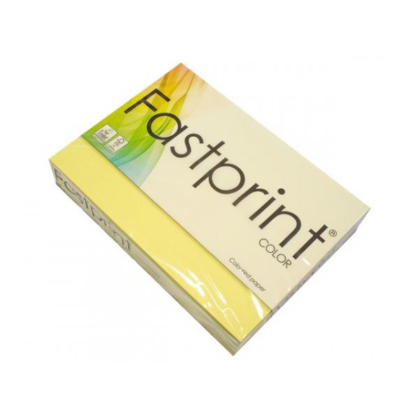 Kopieerpapier fastprint a4 80gr citroengeel