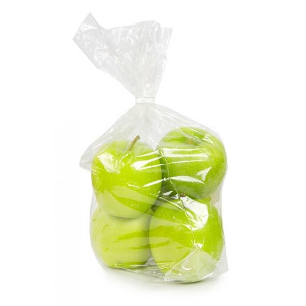 Plastic zak, transparant, 20my, 28/8x60cm, 500 stuks