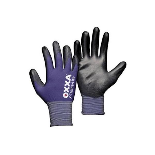 Oxxa X-treme, handschoen PU nylon, blauw, Xl
