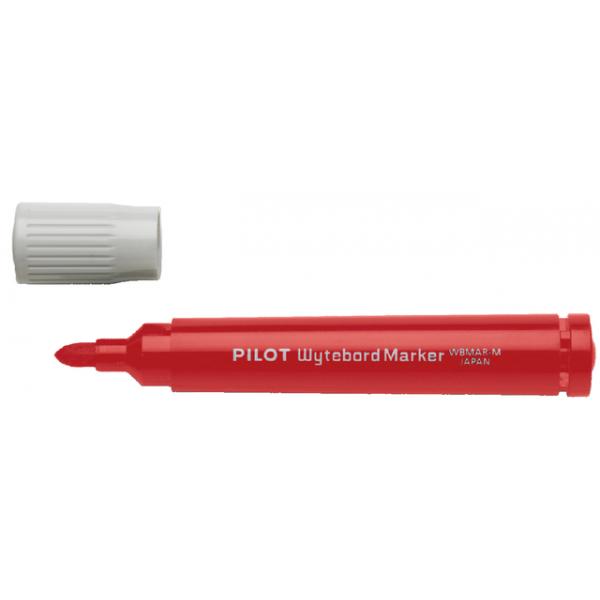 Viltstift pilot wbma-m whiteboard rond 1.8mm rood