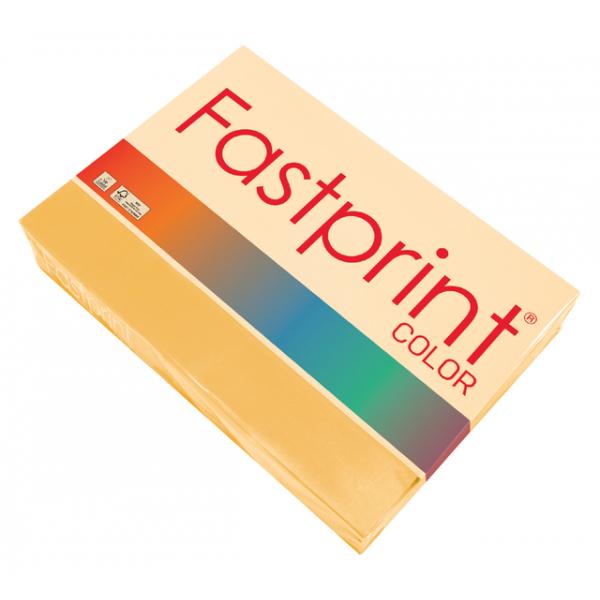 Kopieerpapier fastprint color a4 80gr goudgeel