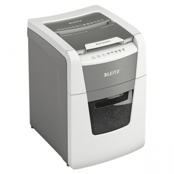 Papiervernietiger leitz iq auto+ small office 100 p4 4x28mm(